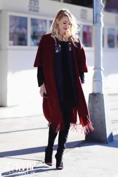 冬季连衣裙搭配